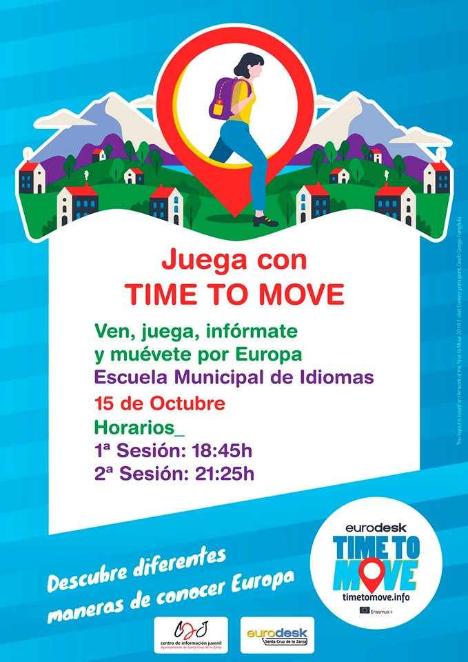 Juega  con Time To Move