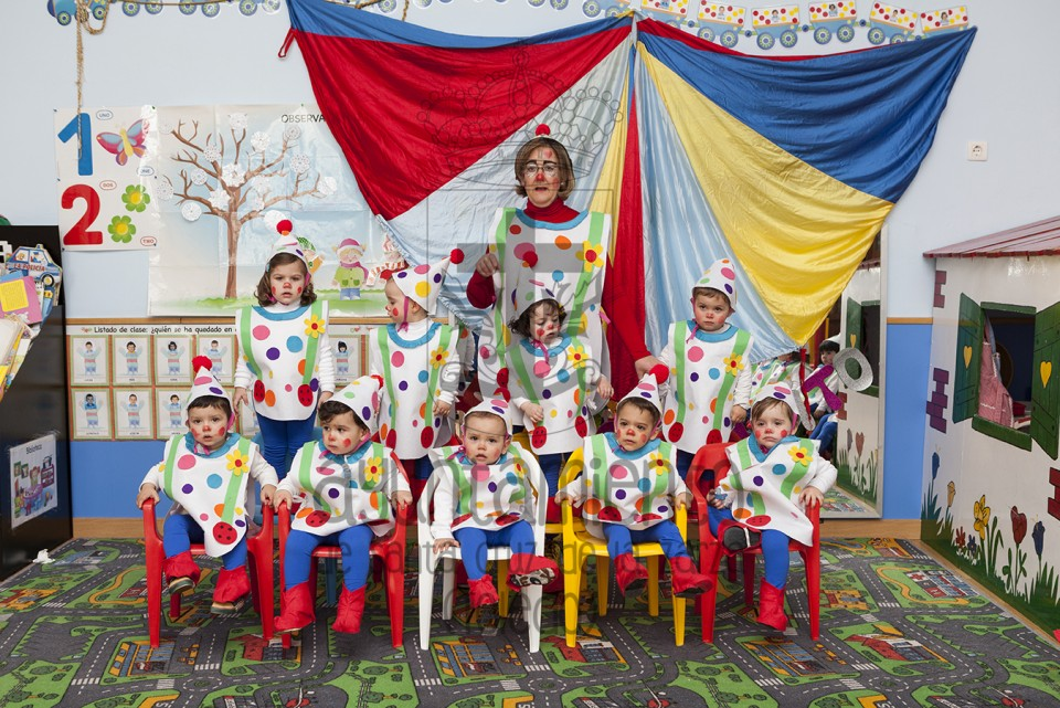 Carnaval en la Escuela Infantil Municipal