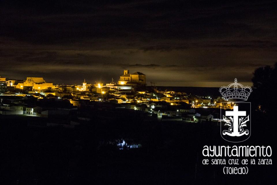Santa Cruz de la Zarza se sumó a la Hora del Planeta