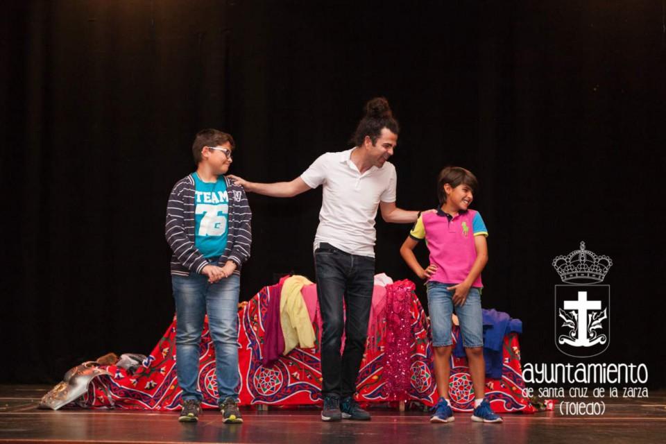 Actividad teatral de la Escuela Municipal de Idiomas