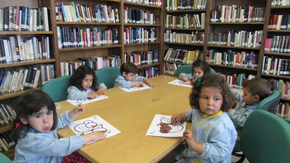 Nuestros más pequeños realizaron su visita anual a la Biblioteca Pública Municipal