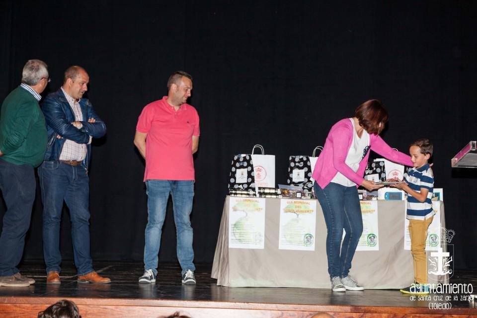 Entrega de Premios del concurso de maquetas con materiales reciclados
