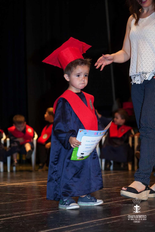 Graduación de los niñ@s de la Escuela Infantil Municipal