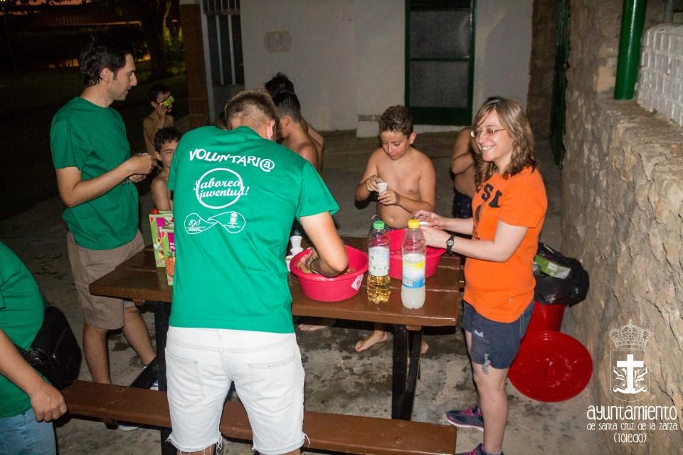 Fiesta ibicenca en la Piscina municipal