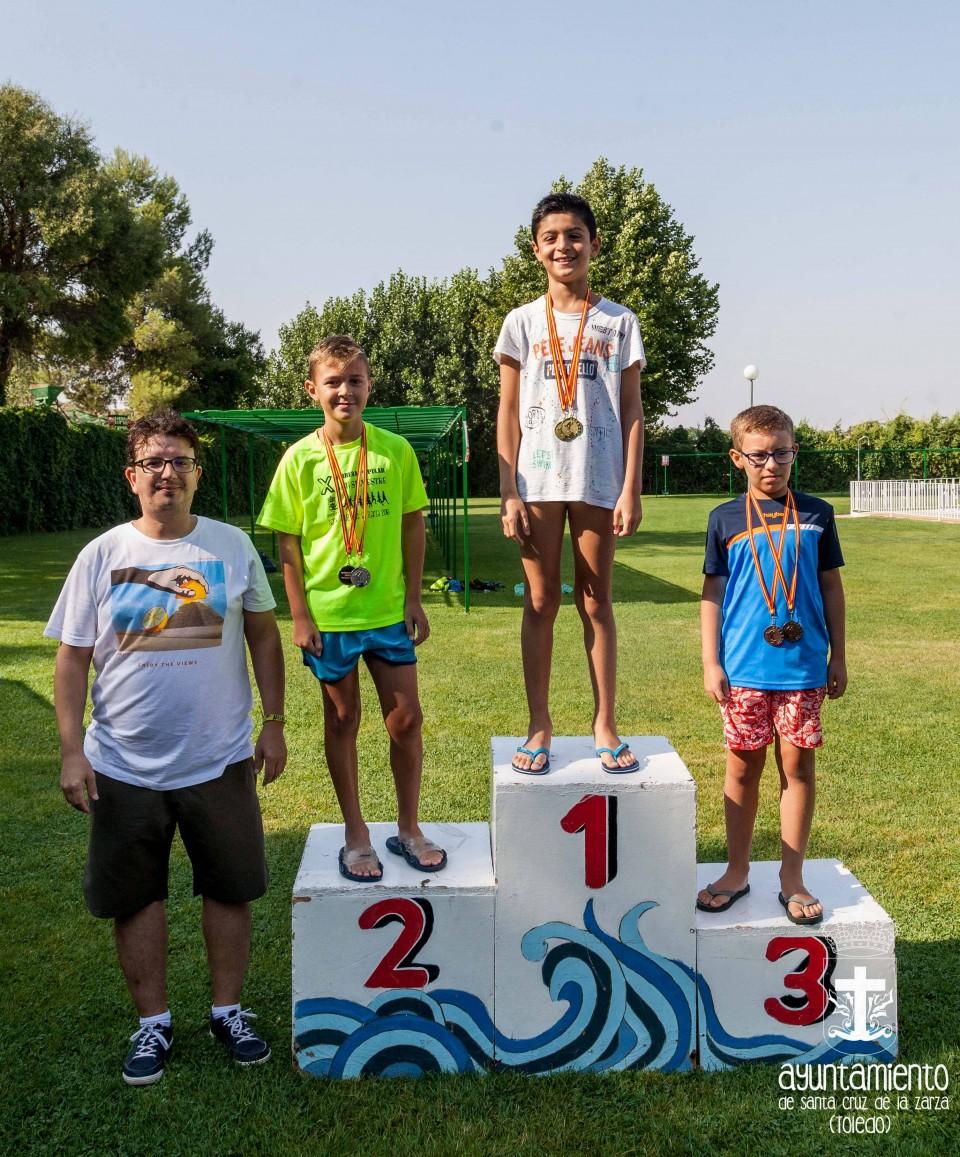 Crónica del campeonato de natación 2018