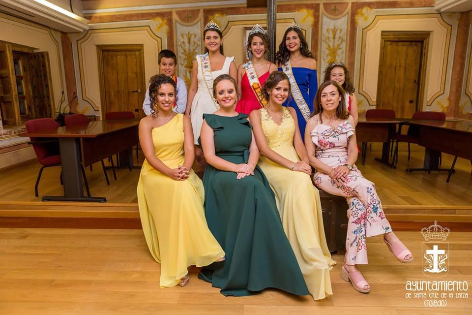 Coronación reinas y damas 2018