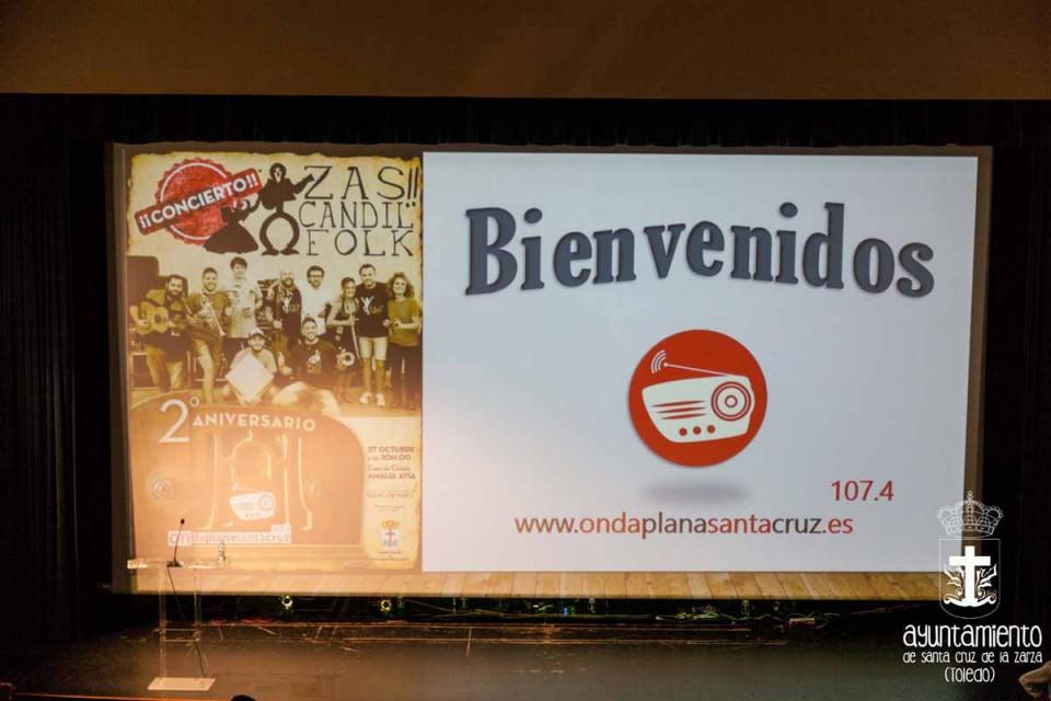 Segundo aniversario de Onda Plana Santa Cruz