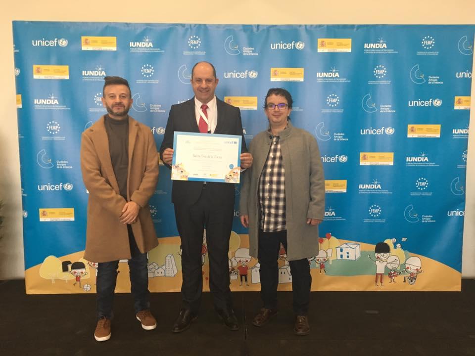 Unicef reconoce a Santa Cruz de la Zarza como