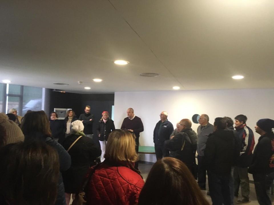 El alcalde felicita la Navidad a todo el personal del Ayuntamiento