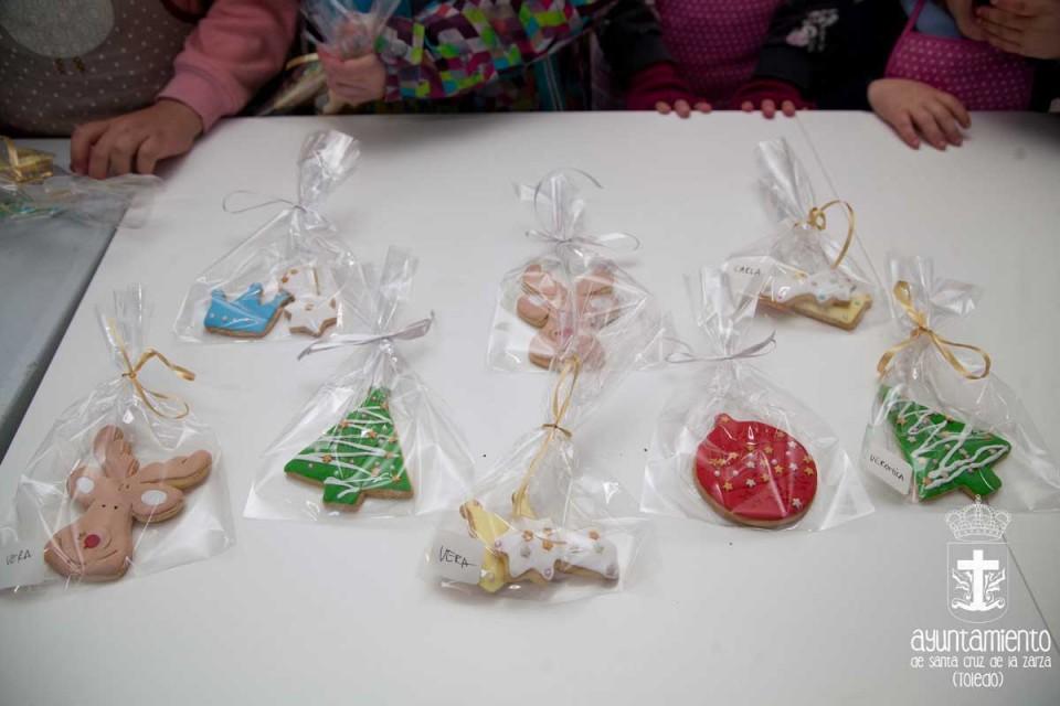 Taller de galletas de Navidad