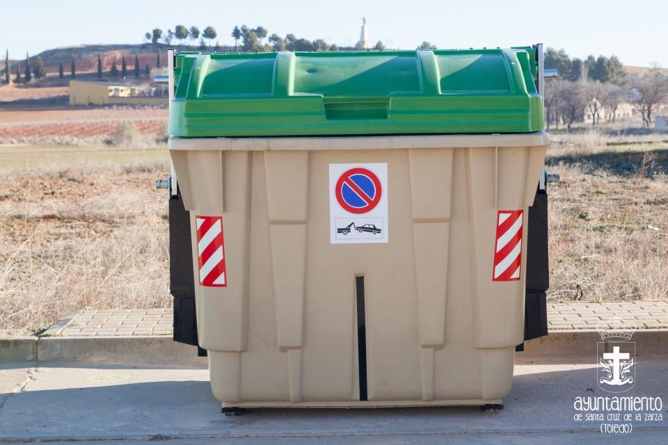 Implantación nuevo sistema de recogida de basura, de carga lateral