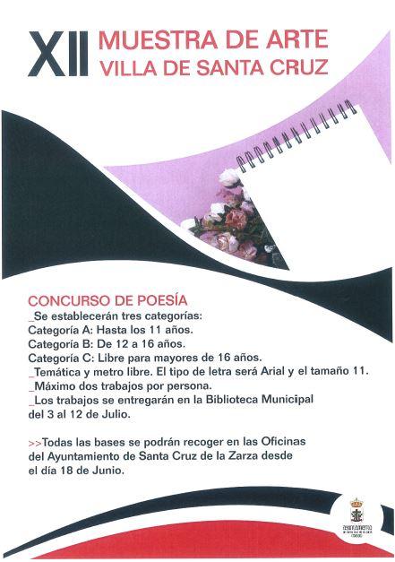 XII Muestra de Arte Villa de Santa Cruz