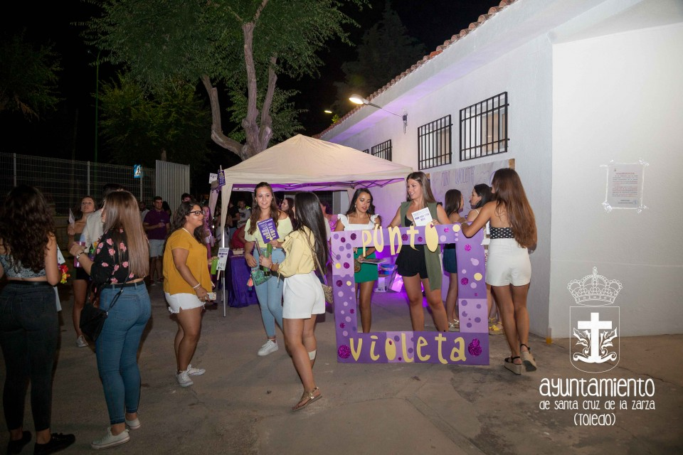 Punto Violeta en las Fiestas de las Peñas