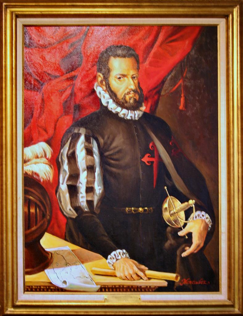 Homenaje a Pedro Menéndez de Avilés. (Comendador de Santa Cruz de la Zarza)