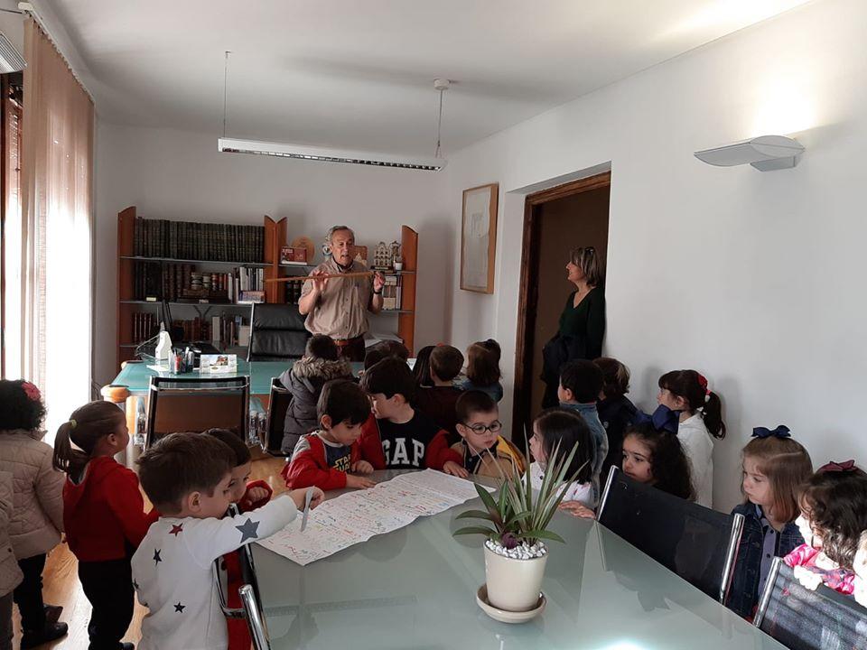 Visita de los niños de Educación Infantil al Ayuntamiento