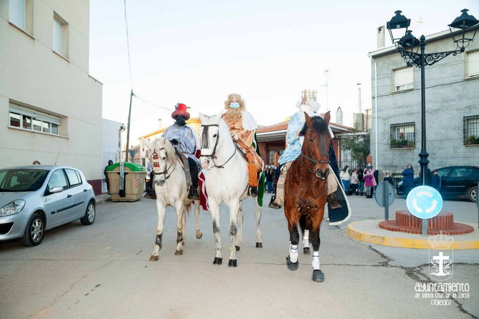 Llegada de los Reyes Magos a Santa Cruz de la Zarza